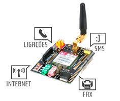 Realize chamadas telefônicas, envio de SMS, conecte o seu Arduino à internet e faça muito mais com o Arduino GSM Shield. Confira Tutorial!