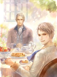 OLD FRITZ AND PRUSSIA!!! [Hetalia] Kudos to the artist!<<Pretty sure the artists name is Erico Lotus.