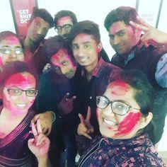 #holi #celebration #office