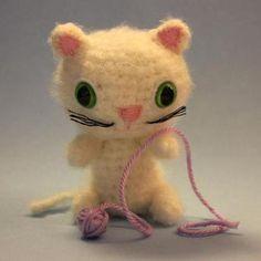 Gatito amigurumi