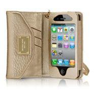 Michael Kors iPhone wallet clutch - brilliant