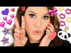 ▶ Japanese Makeup Look, Haul and Chat - (and some BIG NEWS!) - YouTube