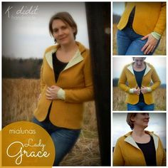 Blazer aus Mantel / Blazer made from old coat / Upcycling