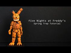 Springtrap from Five Nights at Freddy's Polymer Clay Tutorial  Collaboration with Nerdecrafter - YouTube