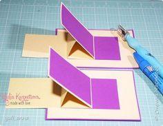 Раскладушка-слайдер для альбома (или для открытки)