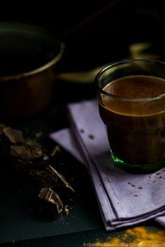 Cioccolata calda miele e cannella