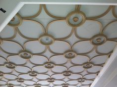 Molding and trim out of MDF ceiling by allen mora