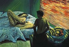 """Bad Boy"" ~ Eric Fischl ~ 1981, Oil on Canvas"