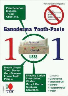 Многофункциональная зубная паста Ганожи