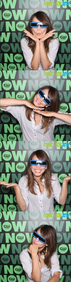 Kristin Kreuk at the boscobooth #BatB #BatBSDCC FULL GIF