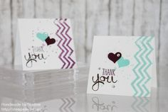 Stampin Up - simple cards