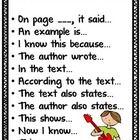 Text Talk Stems {freebie} from Hello Mrs Sykes