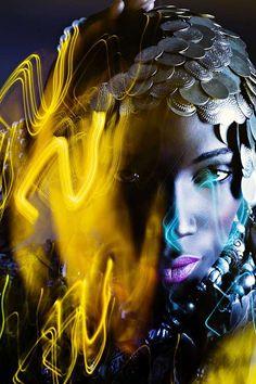 Hallucinating Fashion Photography - Yulia Gorbachenko Will Make You Think You're on Drugs (GALLERY) Creative Fashion Photography, Male Photography, Creative Portraits, Studio Portraits, Editorial Photography, Stunning Photography, Creative Art, Photography Ideas, Illuminati