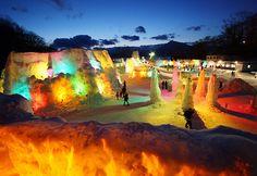 Lake Shikotsu Ice Festival (Japan)