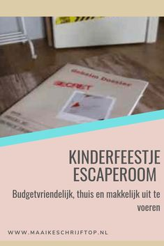 Escape Room, The New School, New School Year, Escape The Classroom, Cool Diy, Beste Mama, Survival Quotes, Survival Tips, Party Decoration