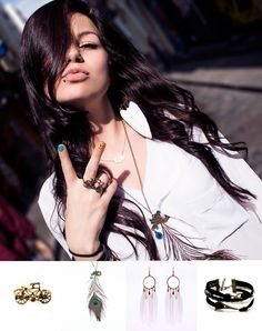 What Ria wore:   I want To Ride My Bicycle Ring: €8 http://eonboutique.com/product/i-want-to-ride-my-bicycle-ring/  Shake A Tail Feather Necklace: €8 http://eonboutique.com/product/shake-a-tail-feather-necklace/  Break Of Dawn Earrings: €10 http://eonboutique.com/product/break-of-dawn-earrings-2/ Paris, je t'aime Bracelet: €6  http://eonboutique.com/product/paris-je-taime-bracelet/   Quirky accessories teamed up with a casual and light feminine summer look!