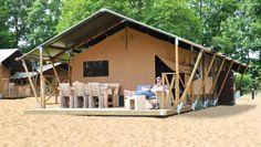#safaritent #huren #spanje #costa #brava #palamos http://holidaytent.eu/tent-huren-spanje/safaritent/