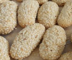 Sesame Seed Cookies-Italian with vanilla