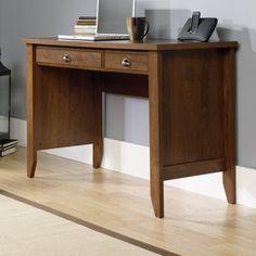 Sauder Registry Row Desk Amber Pine Bedrooms Pinterest Desks And Apartments