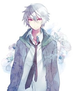 This is an amazing artwork! I love the soft color used many times in different shades (i.e. the blue color) and his red eyes just add touch of contrast that helps this piece not to become bland. I like the feel of the piece too; the shadows are very nice and the cloud around him adds an interesting effect.