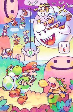 Yoshi's Island artwork