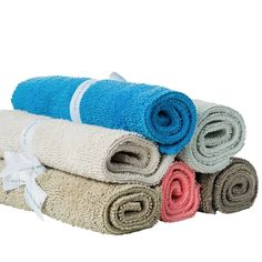 Our soft, luxurious, superabsorbent, and durable cotton bath rugs are a treat for the feet. x Knife edge cotton Reversible Cotton Machine wash cold with like colors, gentle cycle Tumble dry low Do not bleach Do not dry clean Made in India Pine Cone Hill, Pop Up Shops, Large Rugs, Bath Rugs, Sale Items, Original Art, Bleach, India, Cold