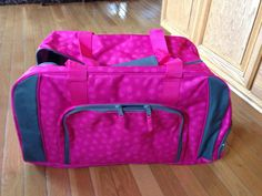 Coming in April - Thirty-One has a brand new Duffle bag! Has a separate pocket for sneakers! Can be embroidered as well.