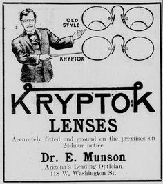 Kryptok Lenses - October 5, 1914.
