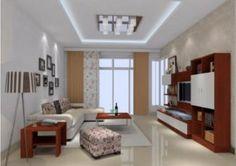 Interior rumah minimalis dengan plafon glass block