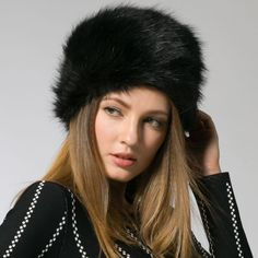 Soft Warm Faux Fur Beanies