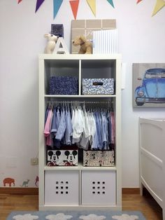 Storage Idea For Kids Room With No Closet