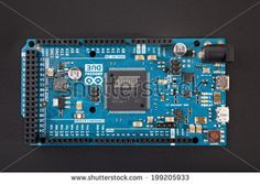 Photo of Arduino Due microcontroller board based on the Atmel ARM Cortex-M3 CPU. It is the first Arduino board based on a 32-bit ARM core microcontroller.  by goodcat, via Shutterstock