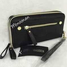 Steve Madden Double Zip Around Wallet - 37% Off Retail - Tradesy