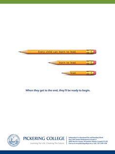 Pickering College - Print Ad on Behance
