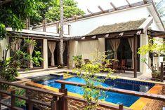 Suite mit 2 Schlafzimmern und eigenem Pool Koh Samui, Pergola, Thailand, Outdoor Structures, Outdoor Decor, Home Decor, Bedroom, Decoration Home, Room Decor