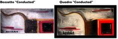 """AtrebArt: Bozzetto con opera conclusa... """"Conducted"""" .Ogni q..."""
