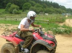 Quad Biking @ Bournemouth for a #hen party. DIY Hen Party Ideas