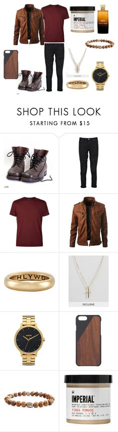 """""""Без названия #3907"""" by southerncomfort ❤ liked on Polyvore featuring Boohoo, Derek Rose, GOOD ART HLYWD, Reclaimed Vintage, Nixon, Native Union, Something Strong, Imperial Barber Products, Hanae Mori and men's fashion"""