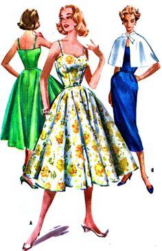 UNCUT Vintage McCall's Pattern 4111   Misses' Dress by anne8865, $33.00