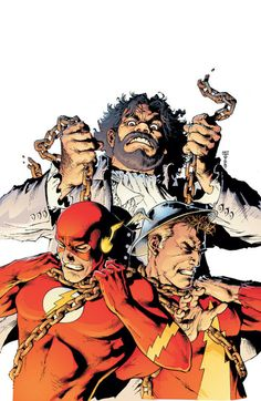 The Fastest Man Alive comes face-to-face with one of the deadliest mortal enemies for all generations of the Flash: the immortal killer Vandal Savage! Comic Villains, Dc Comics Characters, Flash Art, The Flash, Dc Speedsters, Vandal Savage, Flash Tv Series, Comics For Sale, Univers Dc