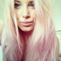 blonde and pastel hair - Google Search