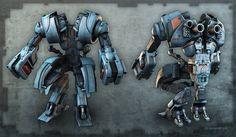 robot by iRj on deviantART