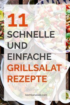 11 schnelle und einfache Grillsalat-Rezepte