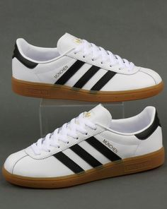 new product 78149 302a8 Adidas munchen White Sneakers, Sneakers Shoes For Men, Adidas Shoes, Casual  Shoes,