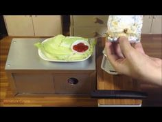 Miniature Food Cooking: Mini Embutido ( Pinoy Style Meatloaf ) (kids kitchen toy) - YouTube