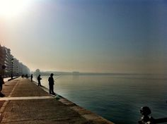 Fishing, Waterfront Thessaloniki, Uber, Greece, My Photos, Fishing, Beach, Outdoor, Greece Country, Outdoors