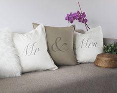 mariage//anniversaire//New Home//fiançailles Personnalisé Coussin.. couples noms..
