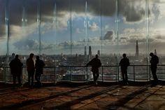 BELGIUM. Antwerp. Antwerp's panormaic view from the MAS Museum. 2012 (Harry Gruyaert)
