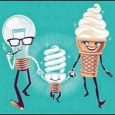 Genetics. So THAT'S where the swirl came from! :-)
