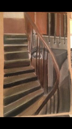 Drawing of the stairs